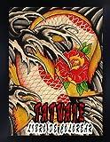 Tatuaje Libro de Colorear: Un libro de colorear impresionante para la relajación y el alivio del estrés, ilustraciones impresionantes para niños y adultos